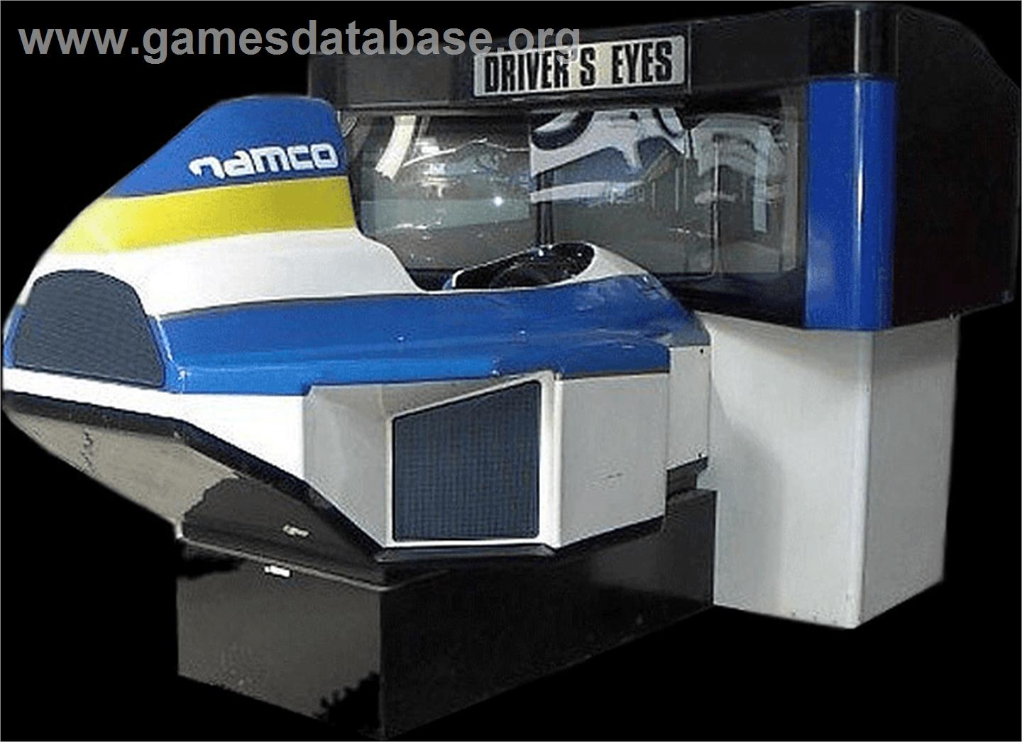 Driver's Eyes - Arcade - Artwork - Cabinet