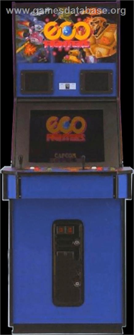 Eco Fighters Arcade Games Database