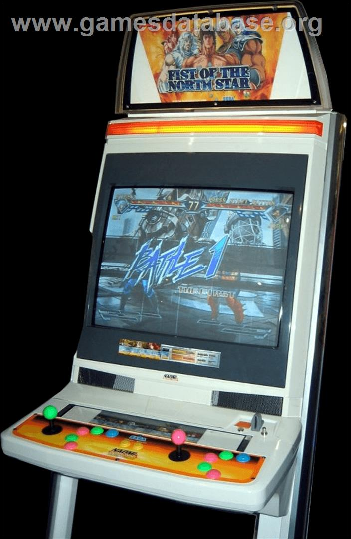 Fist of the north star arcade game