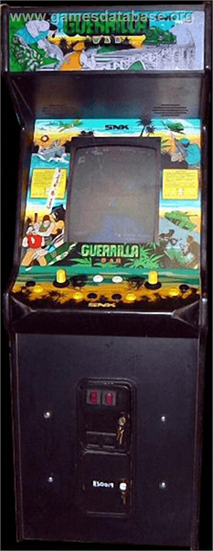 Guerrilla War - Arcade - Artwork - Cabinet
