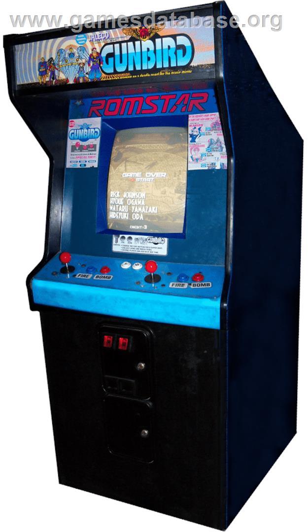 Arcade Cabinet for Gunbird.