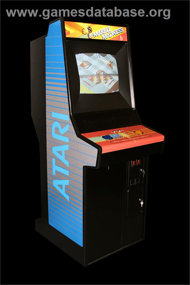 Marble Madness - Arcade - Artwork - Cabinet