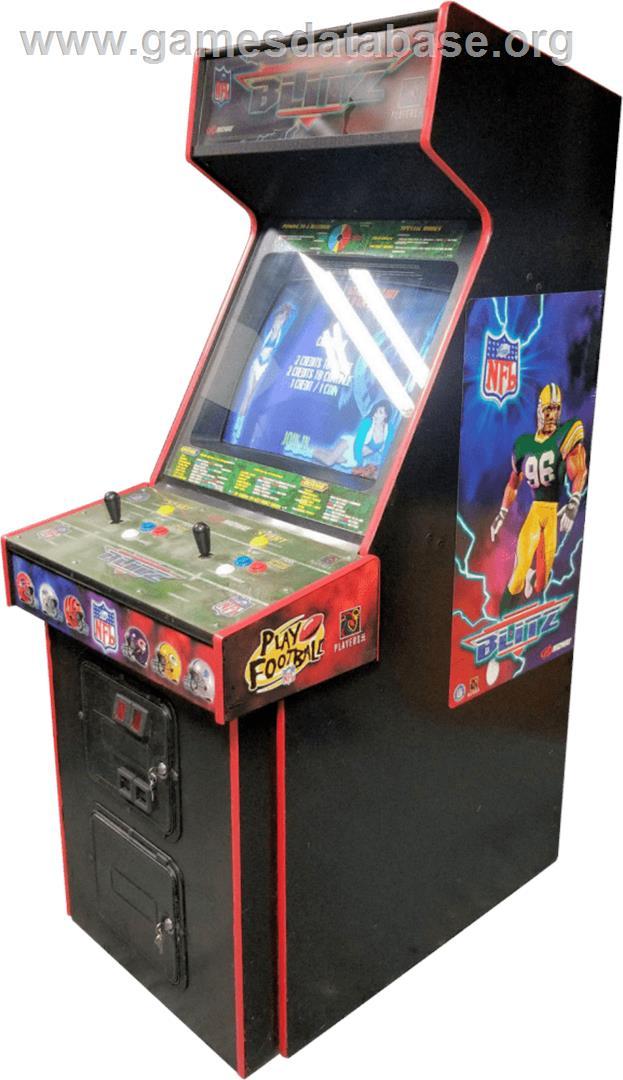 nfl blitz arcade machine