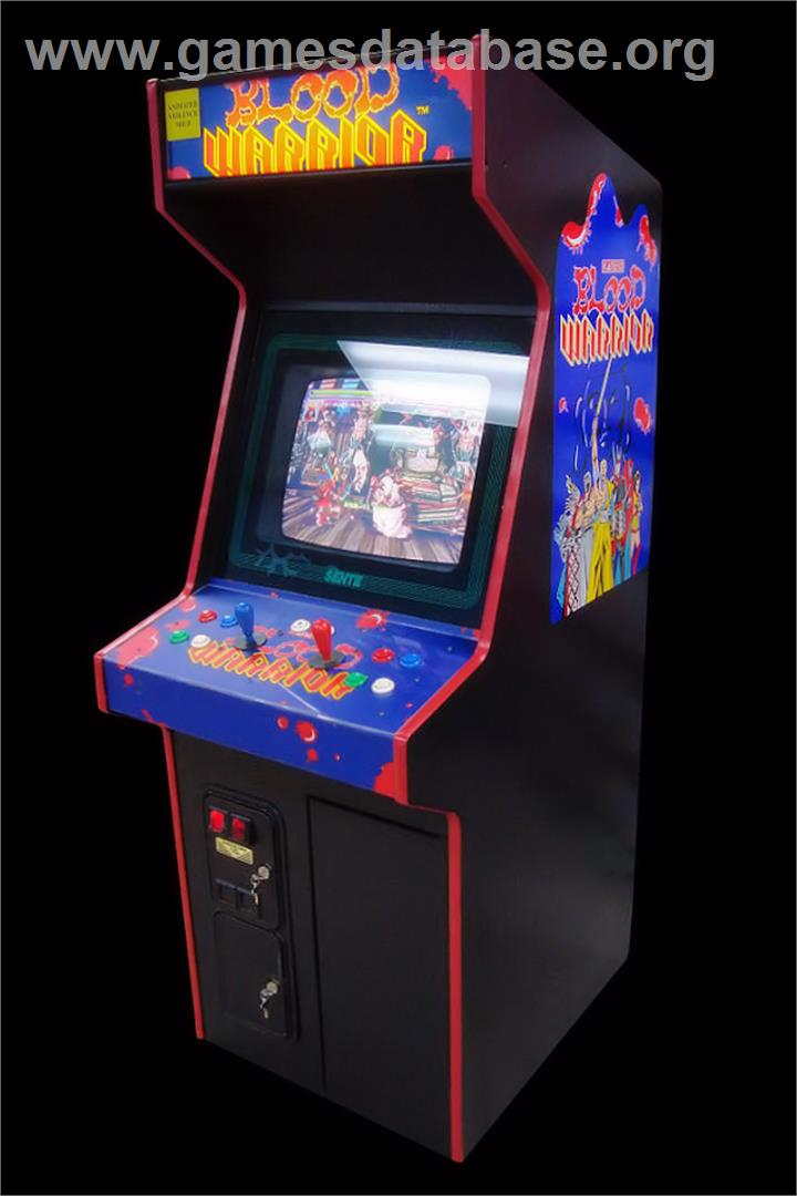 Oedo Fight - Arcade - Artwork - Cabinet