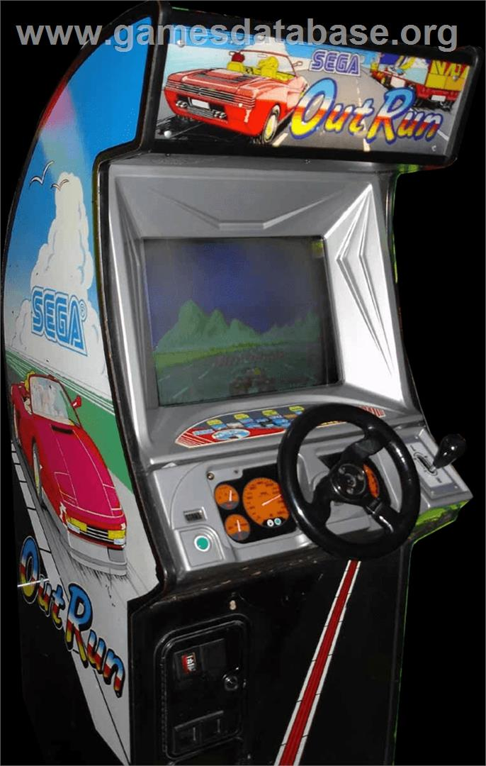 Out Run Arcade Games Database
