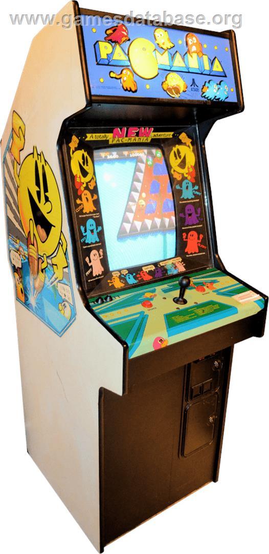 Pac Mania Arcade Games Database