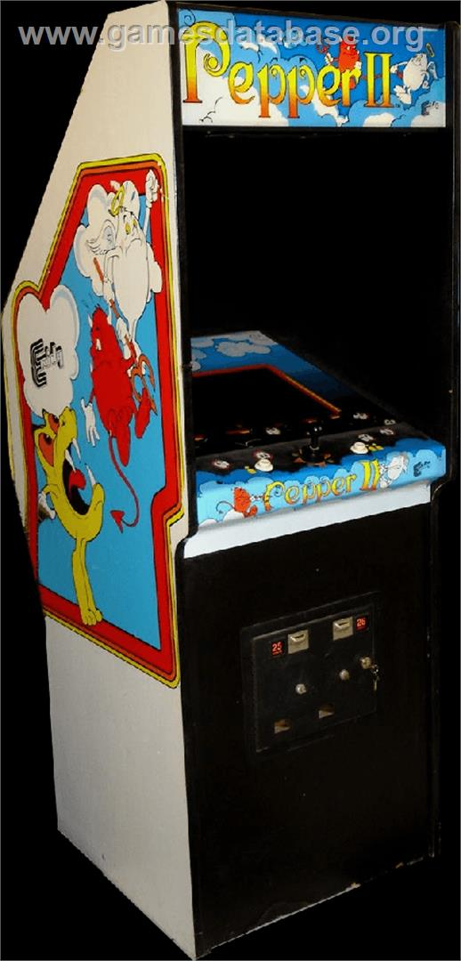 Pepper II - Arcade - Artwork - Cabinet