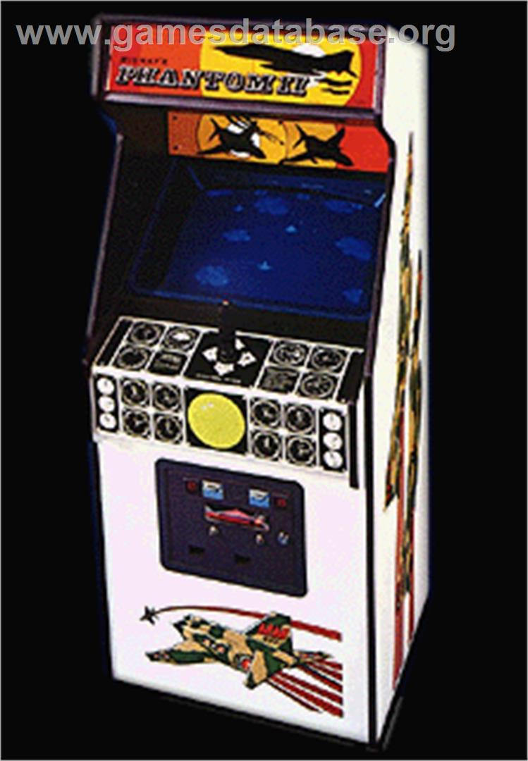 Phantom II - Arcade - Artwork - Cabinet