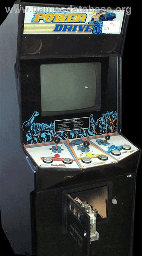 Power Drive Arcade Games Database