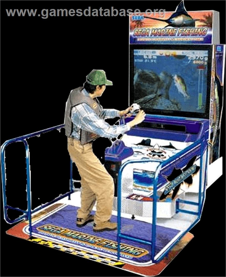 Sega marine fishing arcade games database for Fish arcade game