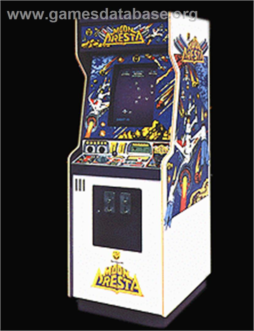 Space Dragon - Arcade - Artwork - Cabinet