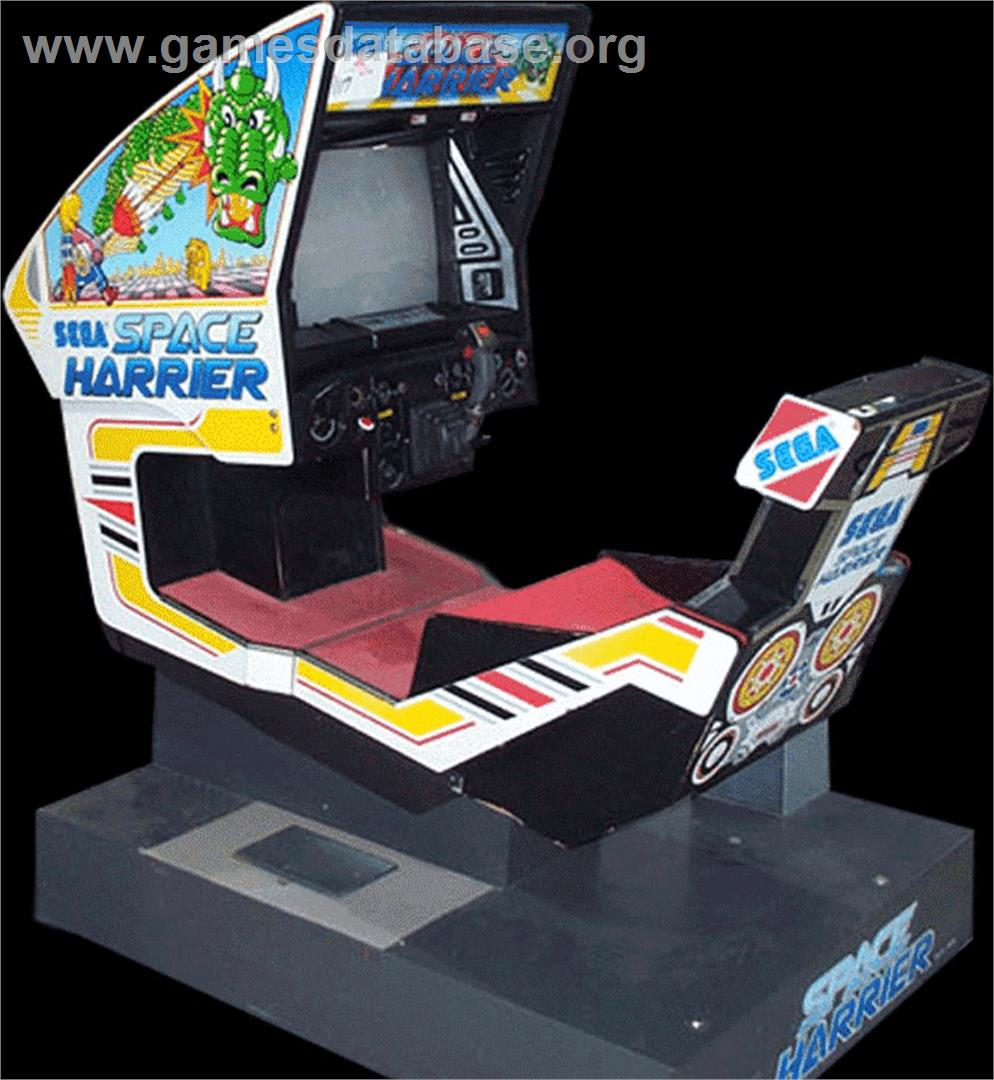 jet fighter arcade machine