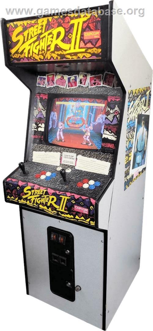 Street Fighter Ii The World Warrior Arcade Artwork Cabinet