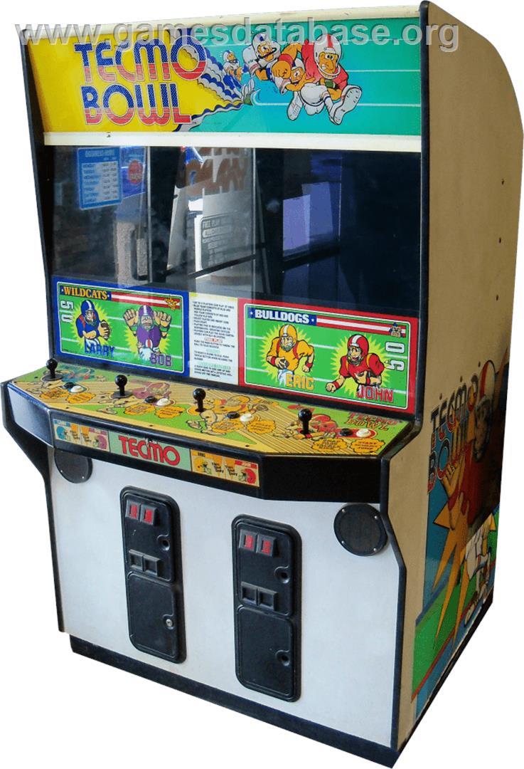 tecmo arcade games list