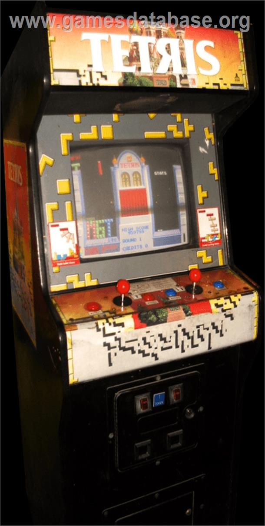 tetris arcade machine