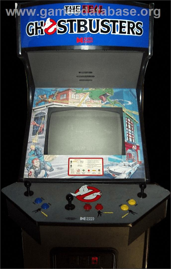 The Real Ghostbusters - Arcade - Games Database