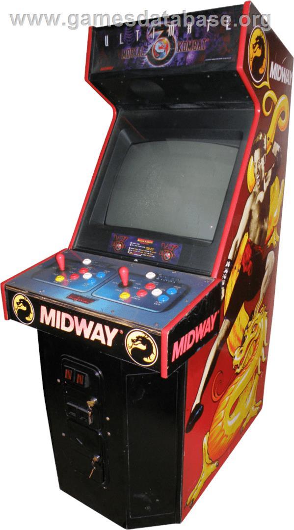 Ultimate Mortal Kombat 3 - Arcade - Artwork - Cabinet