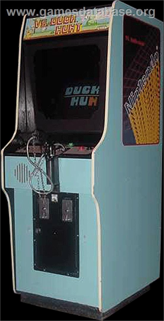 Vs. Duck Hunt - Arcade - Artwork - Cabinet