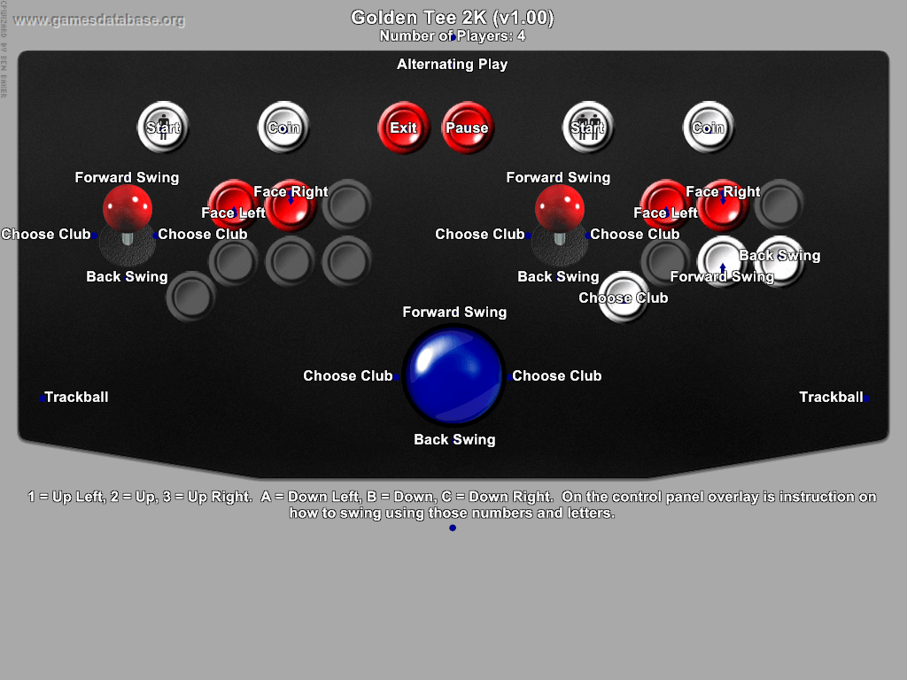 Golden Tee Supreme Edition Tournament - Arcade - Games Database