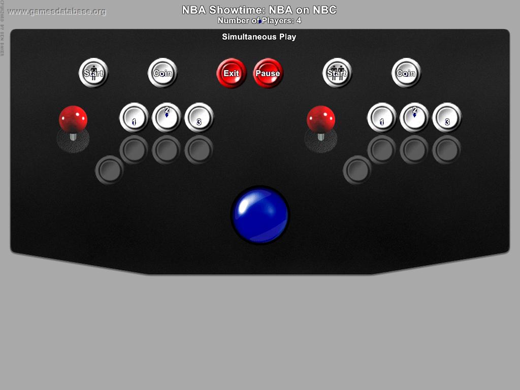 Nba Showtime Nba On Nbc Arcade Games Database