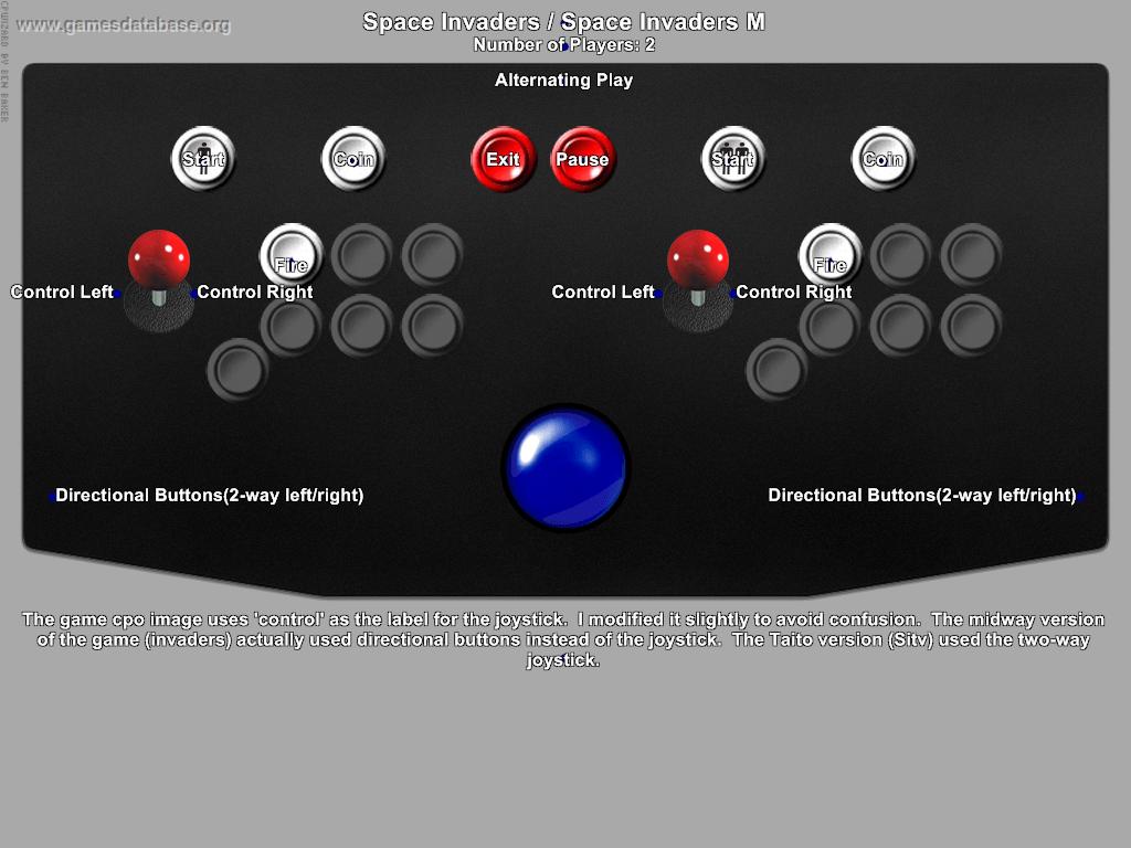 space war arcade games database rh gamesdatabase org 95 Chevy Truck Wiring Diagram 96 Chevy Truck Wiring Diagram