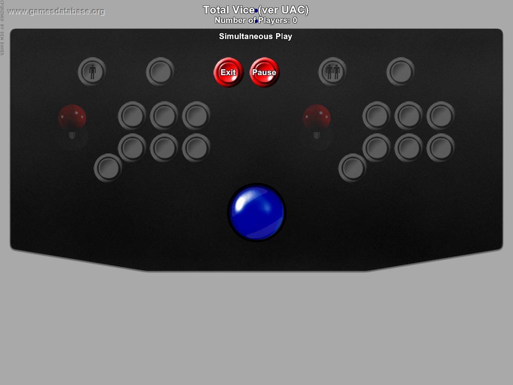 Total Vice Konami Arcade Game Manual Arcade, Jukeboxes & Pinball Collectibles