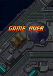 Game Over Screen for 1945k III.