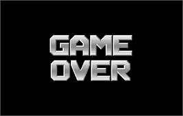 Game Over Screen for 2 On 2 Open Ice Challenge.