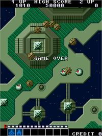 Game Over Screen for ASO - Armored Scrum Object.