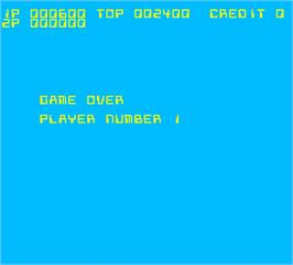 Game Over Screen for Aeroboto.