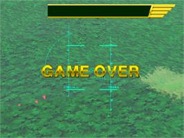 Game Over Screen for Air Combat 22.