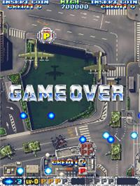 Game Over Screen for Air Gallet.
