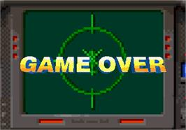 Game Over Screen for Air Rescue.