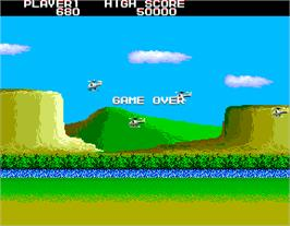Game Over Screen for Airwolf.