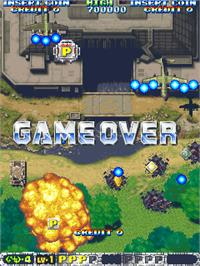Game Over Screen for Akuu Gallet.