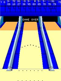 Game Over Screen for Alley Master.
