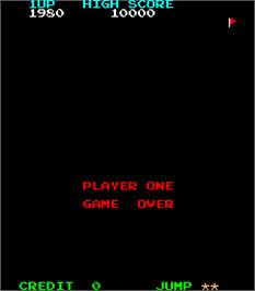 Game Over Screen for Amidar.