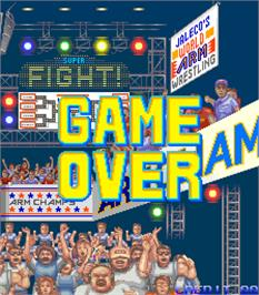 Game Over Screen for Arm Champs II v1.7.