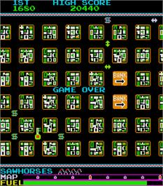 Game Over Screen for Armored Car.