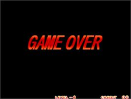 Game Over Screen for Art of Fighting 3 - The Path of the Warrior / Art of Fighting - Ryuuko no Ken Gaiden.