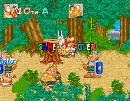 Game Over Screen for Asterix.