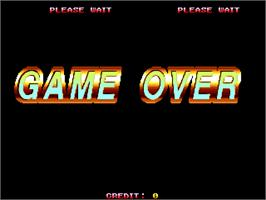 Game Over Screen for Asura Blade - Sword of Dynasty.