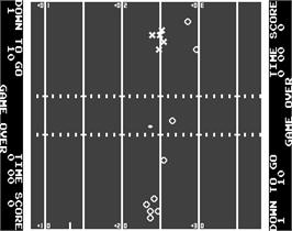 Game Over Screen for Atari Football.