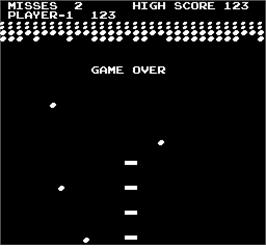 Game Over Screen for Avalanche.