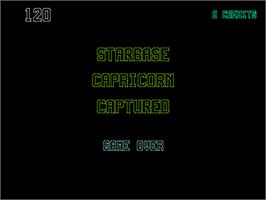 Game Over Screen for Aztarac.
