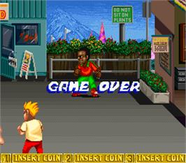 Game Over Screen for B.Rap Boys.
