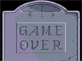 Game Over Screen for Bang!.