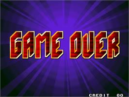 Game Over Screen for Bang Bead.
