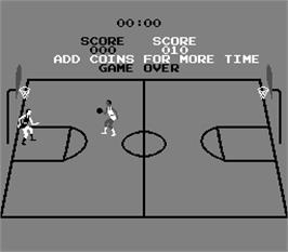 Game Over Screen for Basketball.