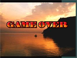 Game Over Screen for Bass Angler 2.